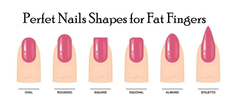 Find The Perfect Nail Shapes For Chubby/Fat Fingers