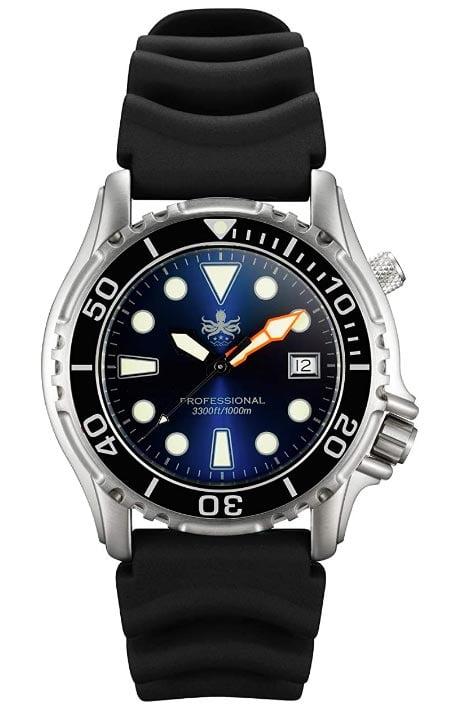 Phoibos Men's PX005B 1000m Dive Watch