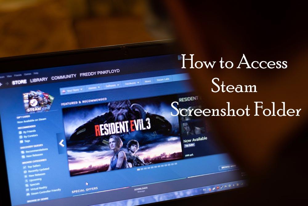 how to find steam screenshot folder
