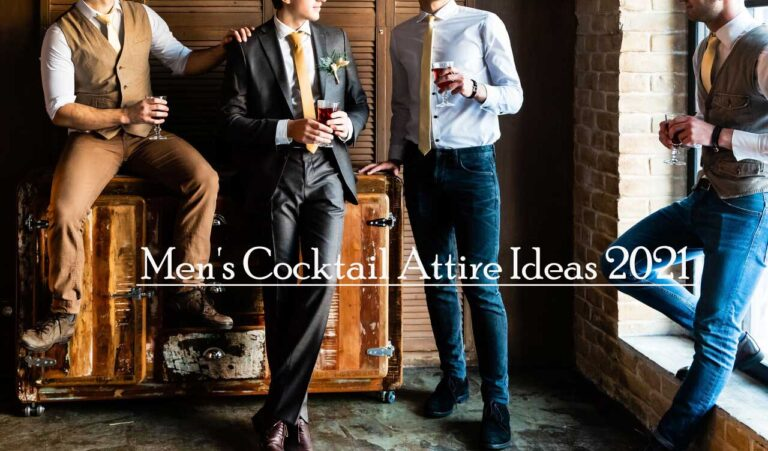 Men's Cocktail Attire For Wedding And Special Events With Unique Ideas