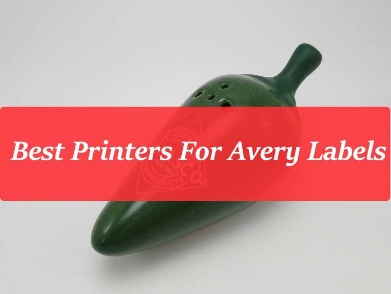 Best Printer For Avery Labels 2021