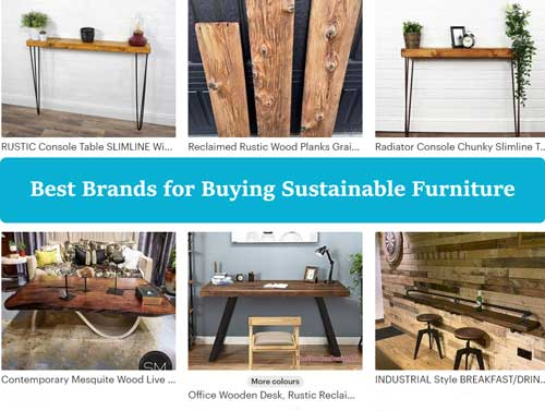 The Best Brands for Buying Sustainable Furniture [in 2021]